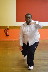 Adrian Sobers performing First Form Tai Chi Grading