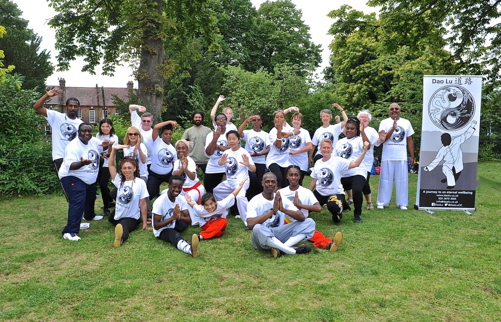 Walthamstow Garden Party 27th July 2014 Tai Chi group