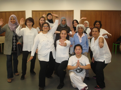 Asian Women's Tai Chi