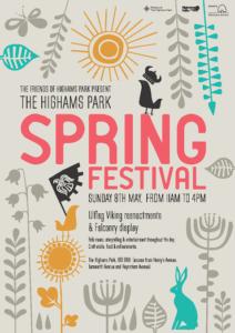 20160508 Poster - Highams Park Spring Festival