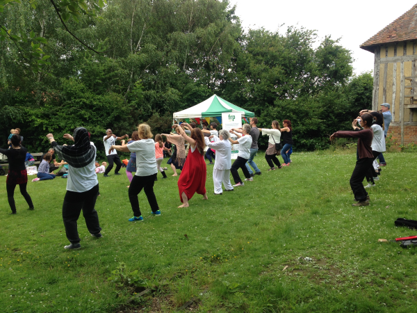 20160702 Wellbeing Day - Tai Chi join in session