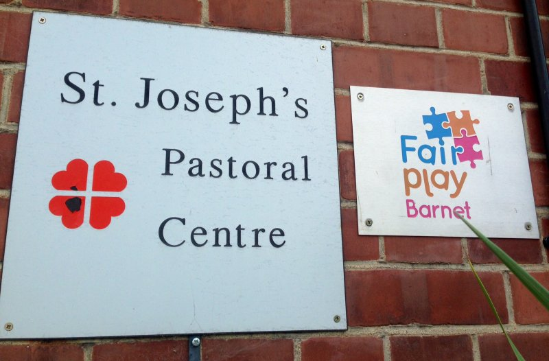 St Joseph's entrance sign