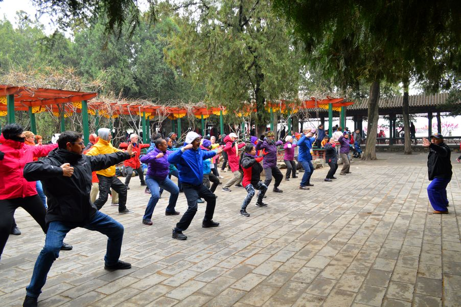 Practicing in Summer Palace, Beijing