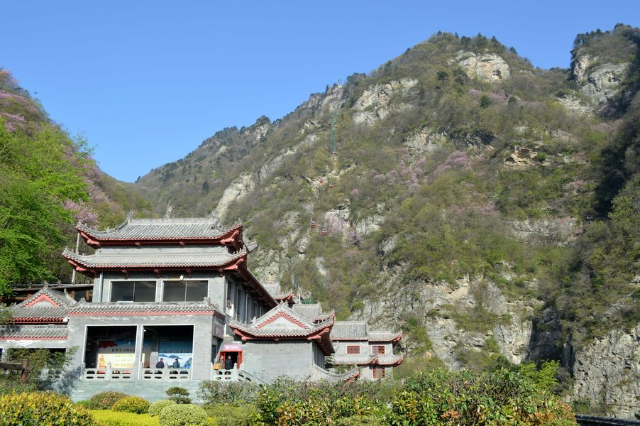 Our hotel on the Wudang Mountain
