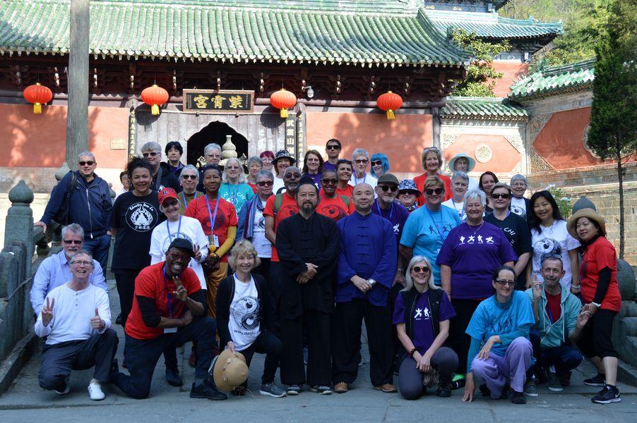 Outside the Purple Heaven Temple
