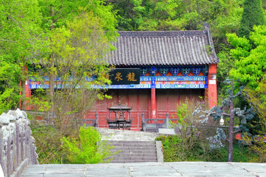 A temple in the Wudang Mountain