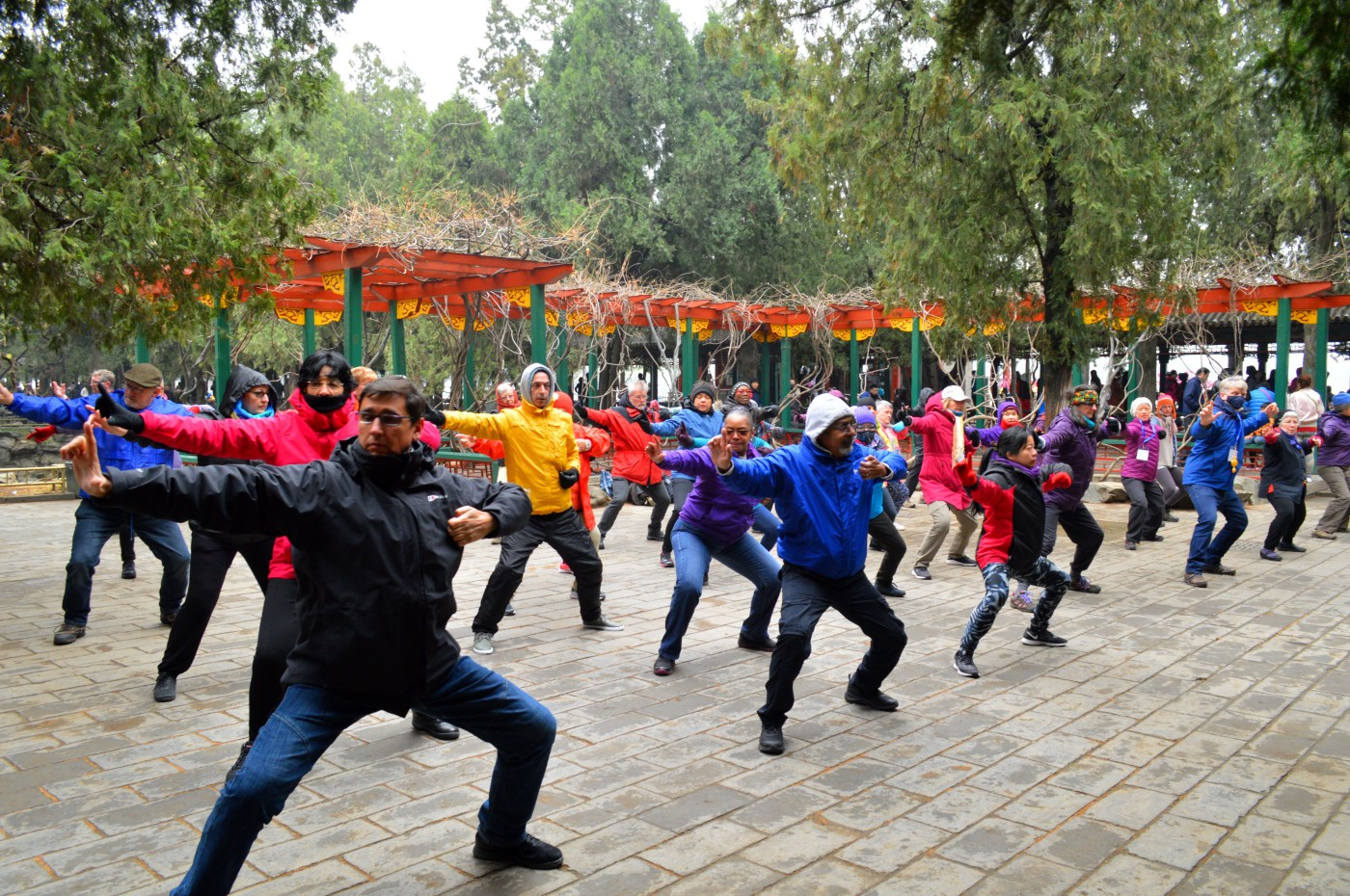 Practicing in the Temple of Heaven, Beijing