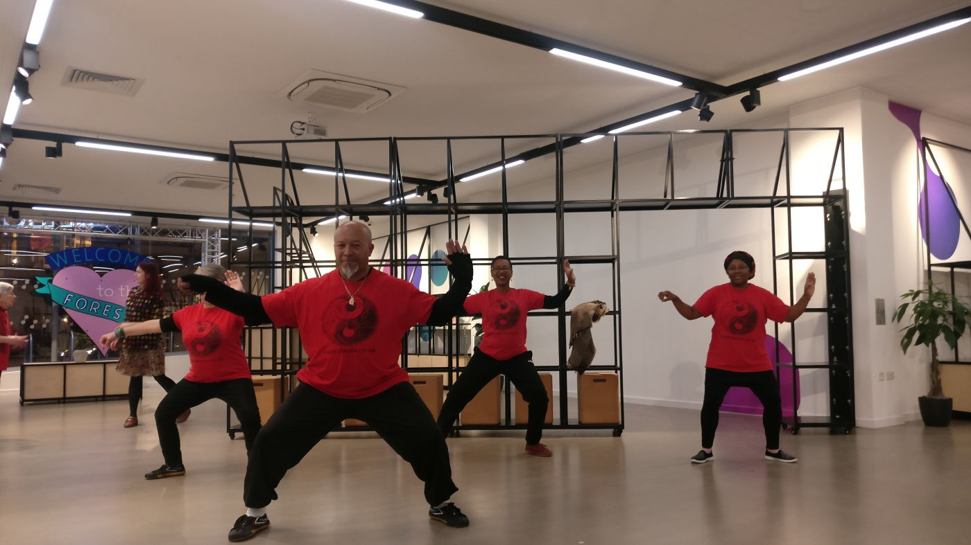 20190109 Tai Chi at One Hoe Street - small group