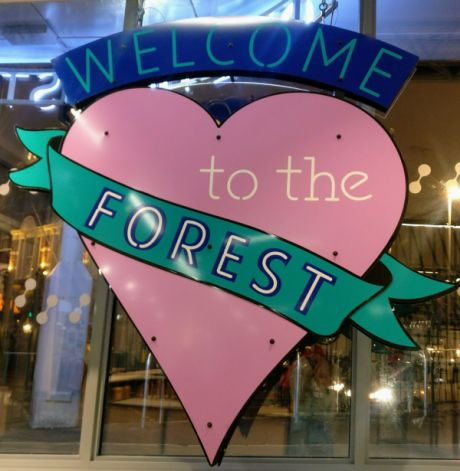 20190110 One Hoe Street - logo of Welcome to the Forest