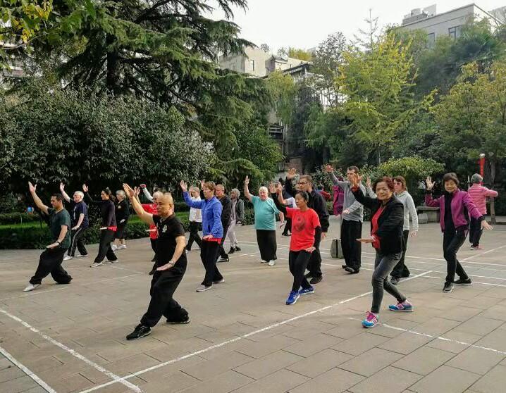 20191030 China Trip - group in training in Xian